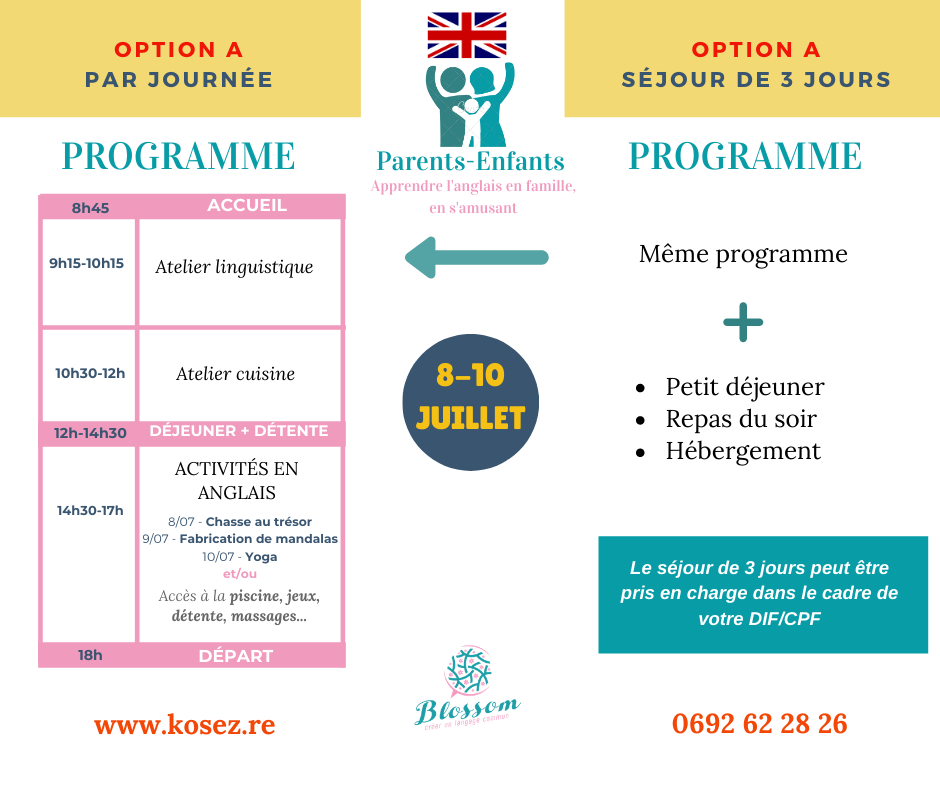 Programme Blossom Parents-Enfants (1)