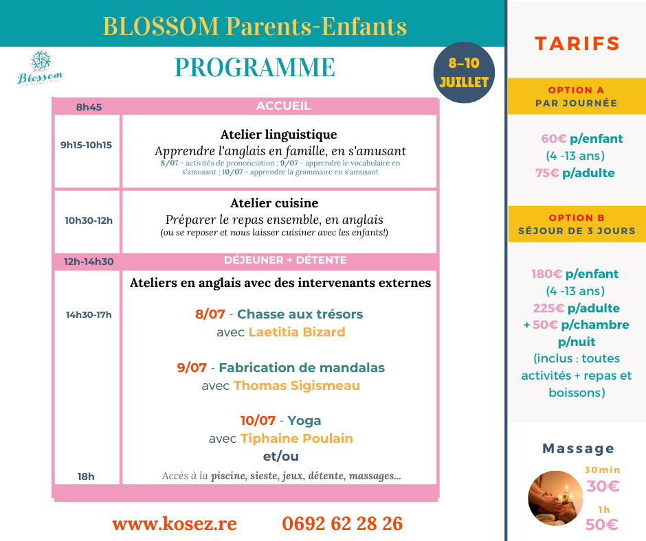 Programme Blossom Parents-Enfants (5)