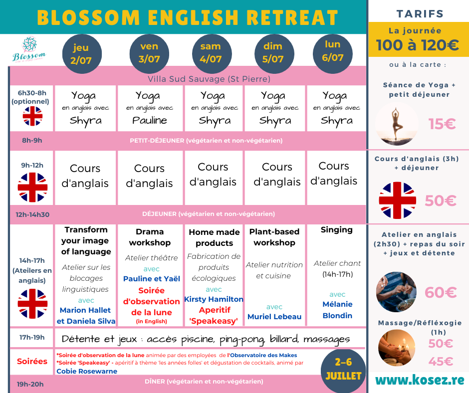 Programme Blossom Retreat (3)