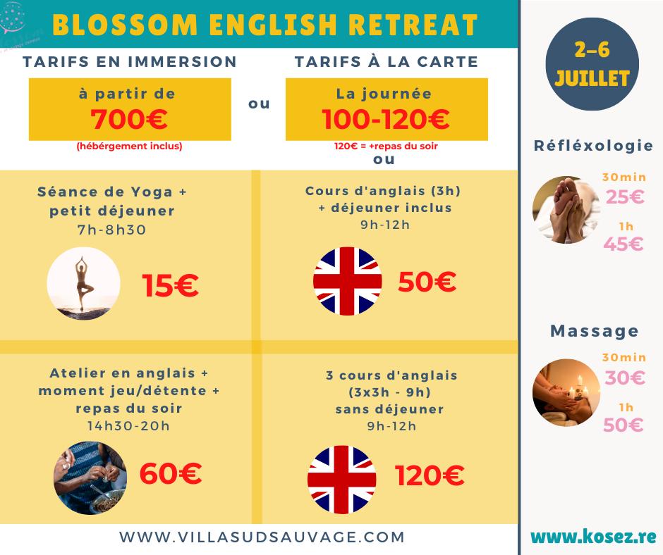 Programme Blossom Retreat